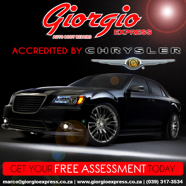 Accredited by Chrysler | Giorgio Express