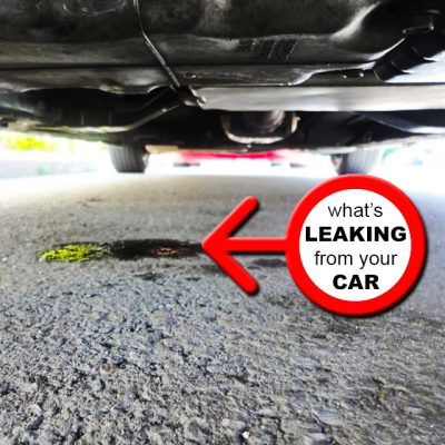 Car Leaking Oil >> Early Warning Signs That You Have An Oil Leak Giorgio Express