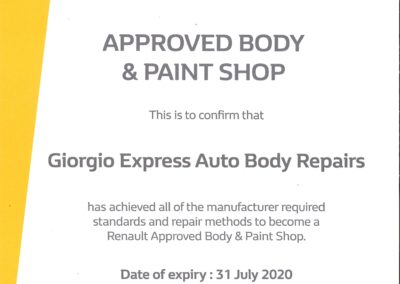 Renault July 2020