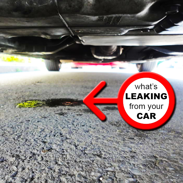 Car Leaking When Parked